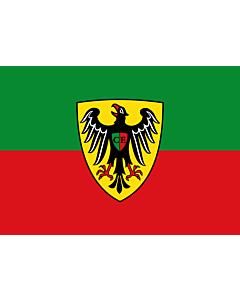 Flag: Esslingen am Neckar |  landscape flag | 0.7m² | 7.5sqft | 70x100cm | 2x3ft