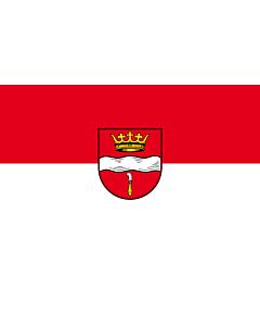 Flag: Winterbach |  landscape flag | 2.4m² | 26sqft | 120x200cm | 4x7ft
