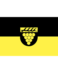 Flag: Weinstadt |  landscape flag | 0.24m² | 2.5sqft | 40x60cm | 1.3x2foot