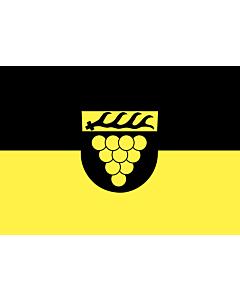 Flag: Weinstadt |  landscape flag | 0.7m² | 7.5sqft | 70x100cm | 2x3ft