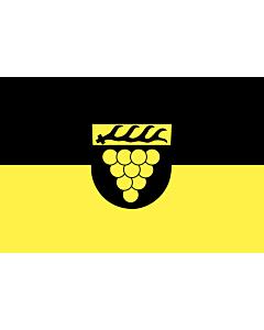Flag: Weinstadt |  landscape flag | 0.96m² | 10sqft | 80x120cm | 2.5x4ft