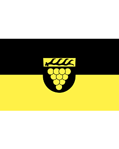 Flag: Weinstadt |  landscape flag | 6.7m² | 72sqft | 200x335cm | 6x11ft