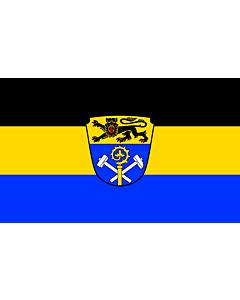 Indoor-Flag: Weilheim-Schongau (Kreis) 90x150cm