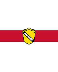 Indoor-Flag: Bernried am Starnberger See 90x150cm