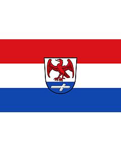 Indoor-Flag: Huglfing 90x150cm