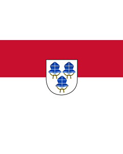 Indoor-Flag: Landshut 90x150cm