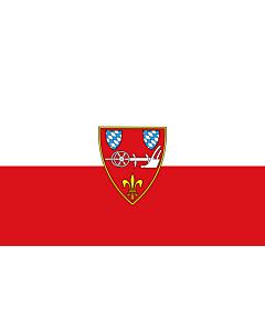 Indoor-Flag: Straubing 90x150cm