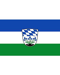 Indoor-Flag: Plattling, St 90x150cm