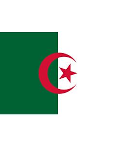 Drapeau: Algérie |  drapeau paysage | 0.7m² | 70x100cm