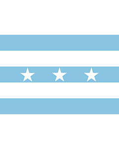 Flag: Ecuador from 1820 to 1822 |  landscape flag | 1.35m² | 14.5sqft | 90x150cm | 3x5ft