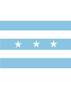 Flag: Província Guayas |  landscape flag | 1.35m² | 14.5sqft | 90x150cm | 3x5ft