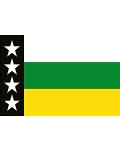 Flag: Provincia Orellana |  landscape flag | 1.35m² | 14.5sqft | 90x150cm | 3x5ft