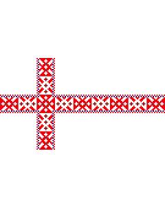 Drapeau: Setomaa | Setumaa lipp |  drapeau paysage | 2.16m² | 120x180cm