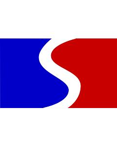Flag: Cabañas Department |  landscape flag | 1.35m² | 14.5sqft | 90x150cm | 3x5ft
