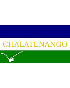 Flag: Chalatenango | Chalatenango Department, El Salvador |  landscape flag | 1.35m² | 14.5sqft | 85x160cm | 35x60inch