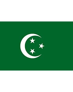 Flag: Egypt  1882-1922 | Egypt 1882 |  landscape flag | 2.16m² | 23sqft | 120x180cm | 4x6ft
