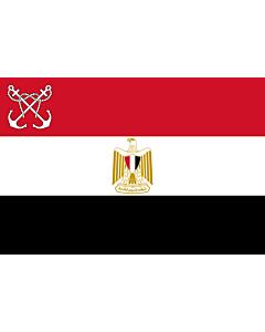 Flag: Naval Ensign of Egypt |  landscape flag | 2.16m² | 23sqft | 120x180cm | 4x6ft