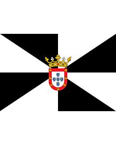 Flag: Ceuta |  landscape flag | 0.24m² | 2.5sqft | 40x60cm | 1.3x2foot
