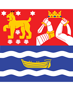 Flag: Southern Finland |  0.24m² | 2.5sqft | 50x50cm | 20x20inch