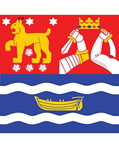 Flag: Southern Finland |  6m² | 64sqft | 240x240cm | 95x95inch