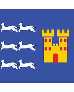 Flag: Oulu |  3.75m² | 40sqft | 190x190cm | 75x75inch