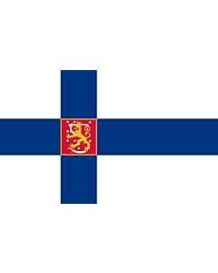 Flag: Finland |  landscape flag | 0.24m² | 2.5sqft | 40x60cm | 1.3x2foot