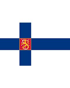 Flag: Finland |  landscape flag | 1.35m² | 14.5sqft | 90x150cm | 3x5ft