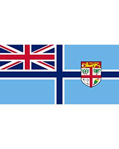 Bandera: Civil Air Ensign of Fiji |  bandera paisaje | 1.35m² | 80x160cm