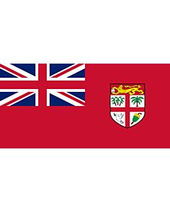 Bandera: Civil Ensign of Fiji |  bandera paisaje | 1.35m² | 80x160cm