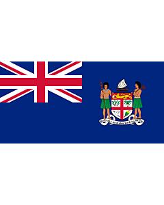 Bandera: Fiji  1924-1970 | Fiji from 1924 to 1970 |  bandera paisaje | 2.16m² | 100x200cm