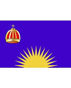 Bandera: United Tribes of Fiji 1867-1869 | United Tribes of Fiji  1867-1869 |  bandera paisaje | 1.35m² | 90x150cm
