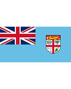 Bandera de Interior para protocolo: Fiyi 90x150cm