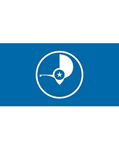 Flag: Yap |  landscape flag | 6.7m² | 72sqft | 190x360cm | 75x140inch