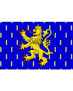 Flag: Franche-Comté |  landscape flag | 0.24m² | 2.5sqft | 40x60cm | 1.3x2foot