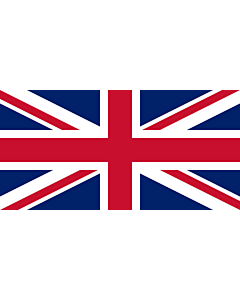 Flag: United Kingdom |  landscape flag | 6m² | 64sqft | 170x340cm | 70x140inch