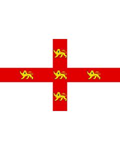 Flag: York |  landscape flag | 0.24m² | 2.5sqft | 40x60cm | 1.3x2foot
