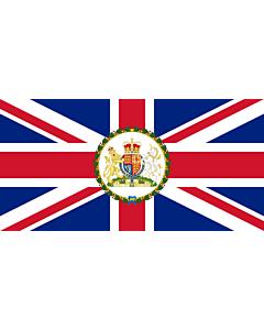Table-Flag / Desk-Flag: British Ambassador Ensign 15x25cm