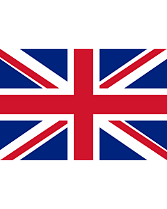 Flag: United Kingdom |  landscape flag | 0.375m² | 4sqft | 50x75cm | 1.5x2.5ft