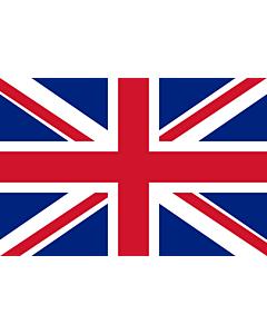 Flag: United Kingdom |  landscape flag | 0.96m² | 10sqft | 80x120cm | 2.5x4ft
