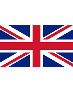 Flag: United Kingdom |  landscape flag | 1.35m² | 14.5sqft | 90x150cm | 3x5ft