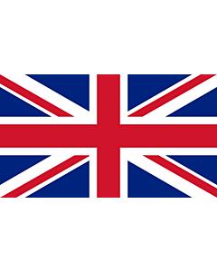 Flag: United Kingdom |  landscape flag | 3.75m² | 40sqft | 150x250cm | 5x8ft