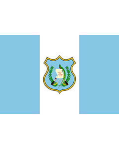 Flag: Guatemala as depicted in Nouveau Petite Larousse Illustré |  landscape flag | 1.35m² | 14.5sqft | 90x150cm | 3x5ft