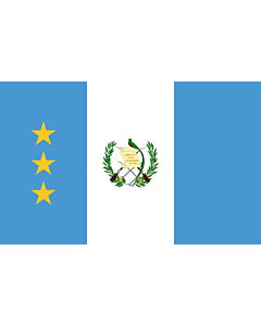 Flag: President of the Supreme Court of Justice of Guatemala | President of the Guatemalan Congress |  landscape flag | 1.35m² | 14.5sqft | 90x150cm | 3x5ft
