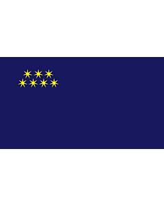Bandera: Adjara  2000–2004 |  bandera paisaje | 1.35m² | 90x150cm