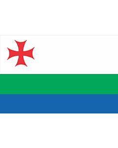Drapeau: Akhalkalaki Municipality | ახალქალაქის მუნიციპალიტეტის დროშა |  drapeau paysage | 1.35m² | 90x150cm
