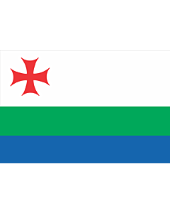 Bandera: Akhalkalaki Municipality | ახალქალაქის მუნიციპალიტეტის დროშა |  bandera paisaje | 1.35m² | 90x150cm