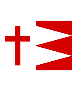 Bandera: Kazbegi | KAZBEGI |  bandera paisaje | 1.35m² | 90x150cm