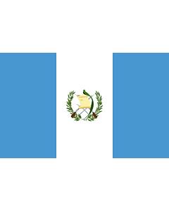 Flag: Guatemala |  landscape flag | 3.75m² | 40sqft | 150x250cm | 5x8ft
