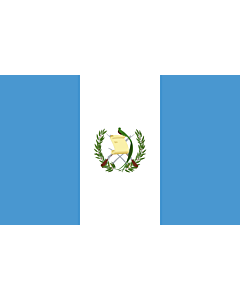 Flag: Guatemala |  landscape flag | 6.7m² | 72sqft | 200x335cm | 6x11ft