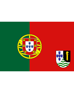 Flagge: Large Portuguese Guinea  proposal | Proposed flag of Portuguese Guinea  |  Querformat Fahne | 1.35m² | 90x150cm